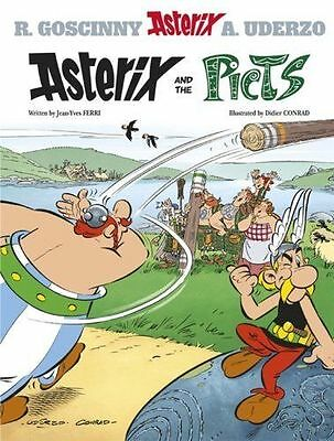 Asterix and the Picts: Album #35-ExLibrary