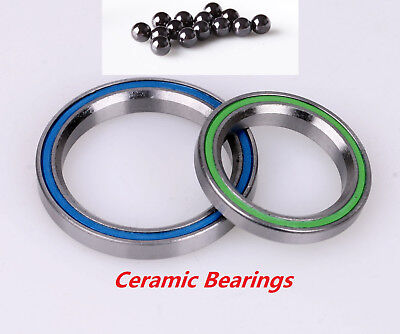 41.8+52 Ceramic Bearings for 1 1/2 Tapered Headset VP,Cane Creek,FSA&Specialized
