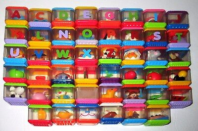 46 Peek A Blocks Ages 1+ FISHER PRICE