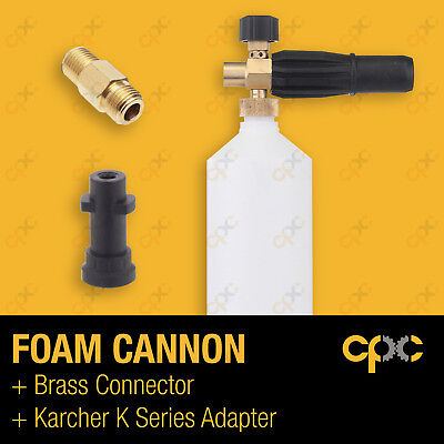 Foam cannon for Karcher K Series pressure washer connector lance canon car wash