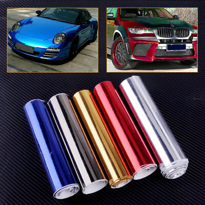 Mirror Chrome Like Finish Car Vehicle Wrapping Vinyl Sheet Sign Sticker Graphic