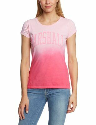 (TG. XL) Rosa (SEASHELL PINK) Franklin & Marshall - T-shirt, Donna, Rosa (SEASHE