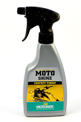 MOTO SHINE PERFECT FINISH MOTOREX 500 ml. spray lucidante con ravvivante colore