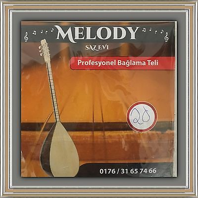 Saz Takim Tel 0,20 Profi Strings Saiten long neck  Uzun Sap Melody Saz