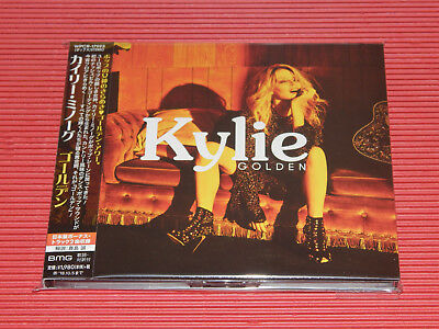 2018 JAPAN KYLIE MINOGUE Golden DIGIPAK CD with TWO BONUS TRACKS for Japan