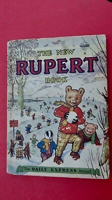Rupert Bear 1951 Annual  Perfect Tight Copy Hard To Find In This Condtion