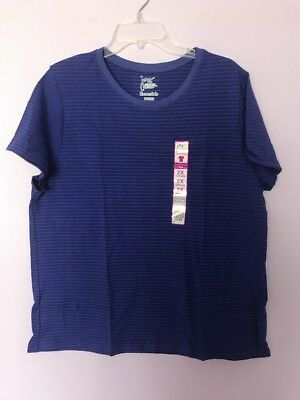 NWT Just My Size Essentials Cotton S//S Crew Neck Tee Top Lime Lantern 3X