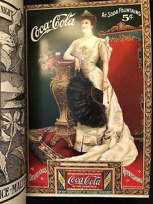 1905 Vintage Coca Cola Ad w/ Coupon Lillian Nordica, still in Independent Mag