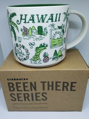 "Starbucks Mug 2018 Hawaii ""Been There Series"" 14 oz. - Brand New!"
