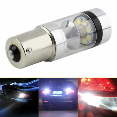 XBD 100W 1156 S25 P21W BA15S Aluminum LED Backup Light Car Reverse Bulb Lamp