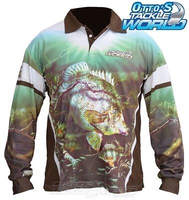 Tackle World Yellow Belly 2016 Long Sleeve Fishing Sun Shirt  BRAND NEW @ Ottos