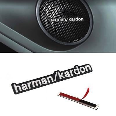 5X Harman Kardon Sport Car Audio Speakers Badge Decal Sticker Decor For BMW Benz