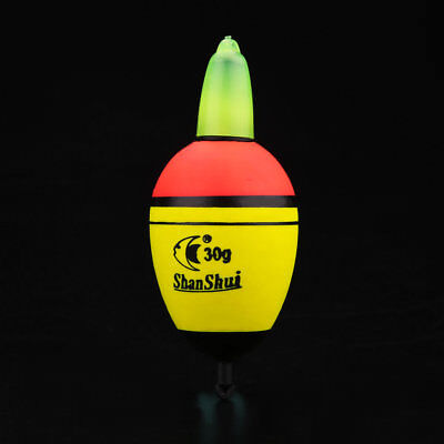 30g Fishing Float EVA Night Light Float 2 Button Fishing Tackle Tools Outdoor