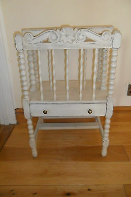 Lovely Antique Shabby Chic Painted Canterbury.