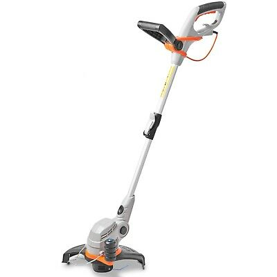 VonHaus 550W Grass Trimmer Adjustable Telescopic Pole & 27cm Cutting Diameter