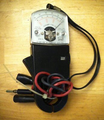 Vintage A.W. Sperry SR300 Snap 5 ~ AC Volt Meter & Clamp-On Amp Meter Tester