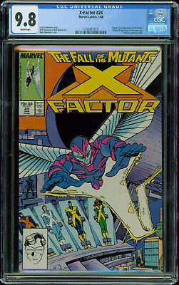 x factor 24 cgc 9 8 white pages 1st appearance archangel origin