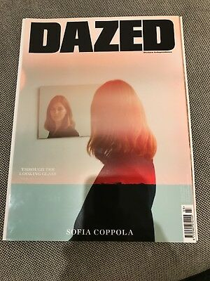DAZED &CONFUSED Summer 2017 Sophia Coppola rare sold out