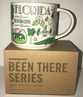 Starbucks Been There Series Collection Florida Coffee Mug New with Box