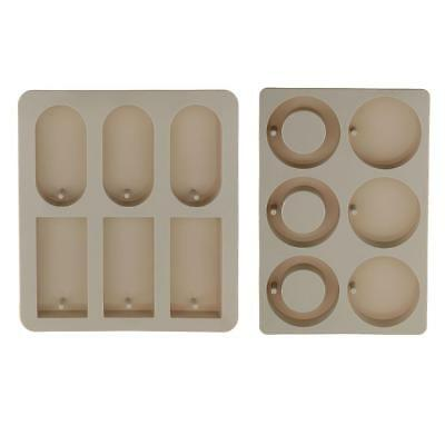 DIY Soy Candle Aroma Wax Tablets Silicone Mould Resin Dried Flower Soap Mold