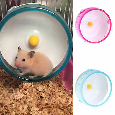 Rat Hamster Souris Exercice Jouets Silencieux Course Roue Spinner Pour Animaux