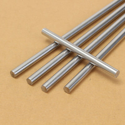 6/8/10/12mm 3D Printer CNC Chromed Smooth Rod Steel Linear Rail Shaft 100~550mm