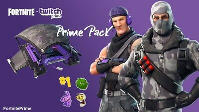 Fortnite: Twitch Prime Pack Region Free (PC/XBOX/PS4)