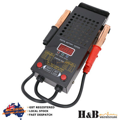 Digital Battery Load Tester 12V 125 AMP Max. 1000 CCA LED Battery Test