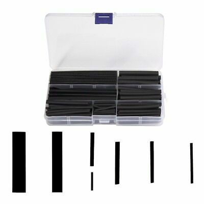 160pcs Assortment Heat Shrink Sleeve Electrical Cable Tube Tubing Wrap Wire Kit