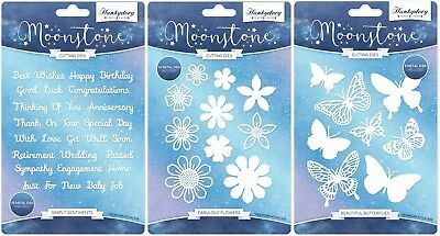 Hunkydory Moonstone SIMPLY SENTIMENTS, BEAUTIFUL BUTTERFLIES & FABULOUS FLOWERS