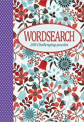 Wordsearch (Purple Star Spine): 200 Challenging Puzzles (Elegant Puzzle) Book