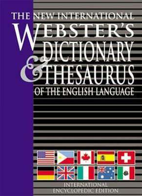 New International Webster's Dictionary and Thesaurus of the English Language: I