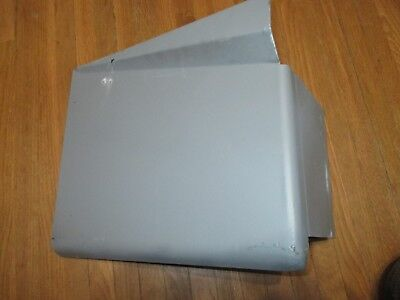 John Deere M,Mc,Mi,Mt  R-Hand Hood Panel W/Tool Box New Reproduction Am358T