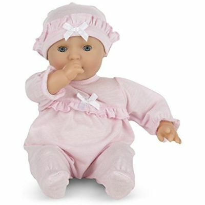Melissa Doug Mine To Love Jenna 12-Inch Soft Body Baby Doll With Romper And Hat