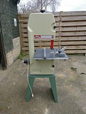 Kity bandsaw 613 - green - mitre guide - blades included