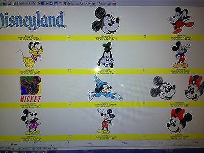 Disney Character Embroidery Design Cd In Pes (Mickie Mouse & Friends)