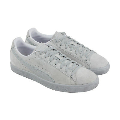 eecc93a5fa3a PUMA CLYDE NORMCORE Mens Gray Suede Lace Up Sneakers Shoes -  15.99 ...