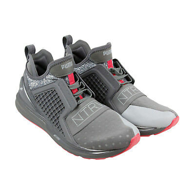 0f01f2971af Puma X Staple Ignite Limitless Mens Gray Textile Athletic Training Shoes
