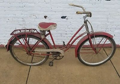Prewar Schwinn Henderson Vintage Beach Cruiser Bicycle Bike