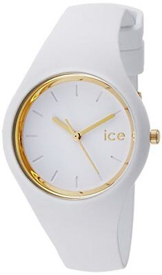 36a83ec66d6ee Ice-Watch - ICE glam White - Women's wristwatch with silicon strap - 000981  (