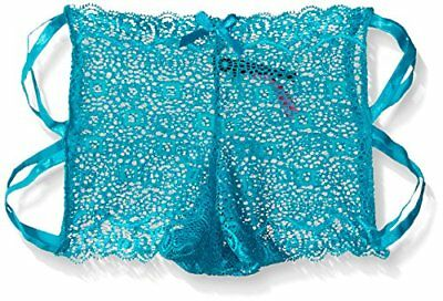 (TG. XLarge) blu Seven Til Midnight Geo Galloon Lace Boyshort XL, colore: turche