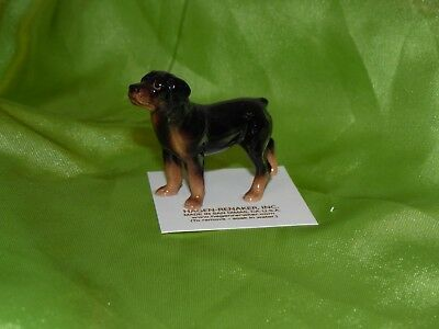Hagen Renaker Dog Rottweiler 3138 Figurine Miniature Ceramic Porcelain NEW