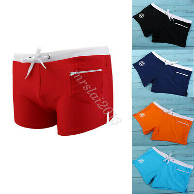 Men Swimwear Trunks Boxer Swimming Surf Board Swim Pants Shorts Beach Underwear