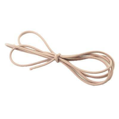 5m Fashion Elastic Rubber Hair Band Ties Rope for DIY Ponytail Holder Nude