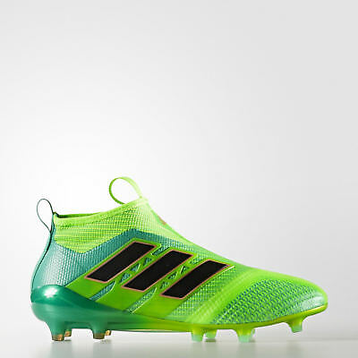 8274e5789691 ADIDAS MEN S ACE 17+ Purecontrol FG Solar Green Black BB5950 ...