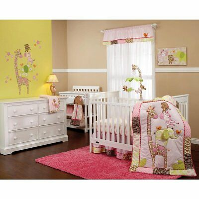 "Carter's ""Jungle Collection"" 7 Piece Crib Set"