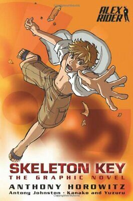 Skeleton Key Graphic Novel (Alex Rider) by Johnston, Antony Paperback Book The