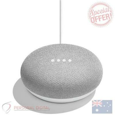 Genuine Google Home Mini Smart Home Assistant & Speaker (Chalk) New