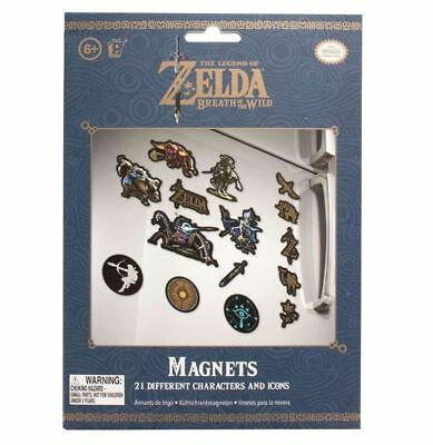 Official The Legends Of Zelda Nintendo Fridge Magnets Magnet 21 Pieces