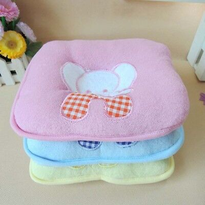 Baby Newborn Infant Anti Roll Pillow Sleep Positioner Prevent Flat Head Cushion